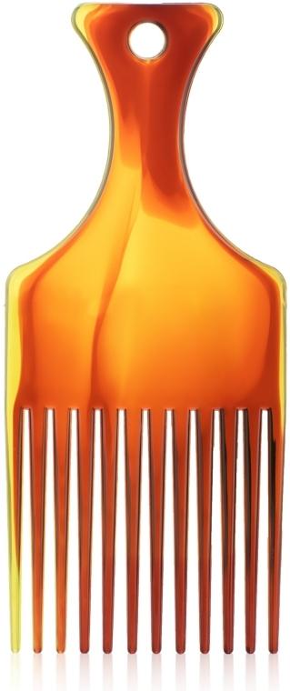 """Гребень для волос """"Afro"""" M, 60281, янтарный - Top Choice"""