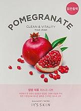 Духи, Парфюмерия, косметика Тканевая маска - It's Skin The Fresh Pomegrante Mask Sheet