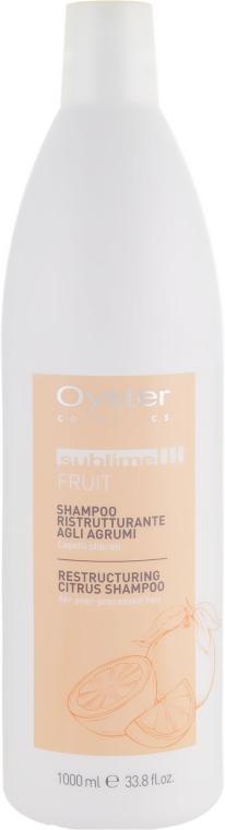 """Шампунь """"Восстанавливающий"""" с экстрактом цитрусовых - Oyster Cosmetics Sublime Fruit Citrus Shampoo"""
