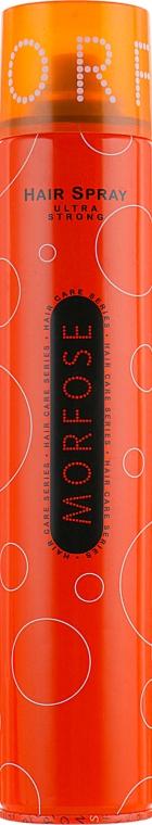 Лак для волос - Morfose Hair Spray Ultra Strong
