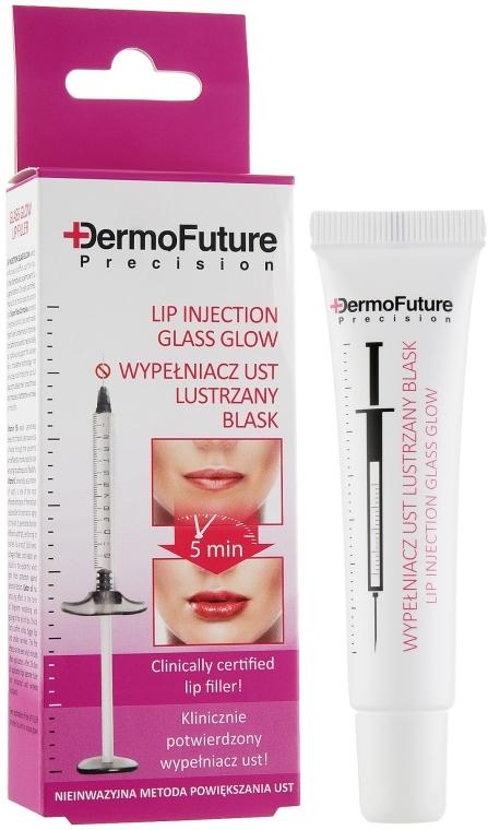 "Максимайзер для губ ""Зеркальный блеск"" - DermoFuture Glass Glow Lip Filler"