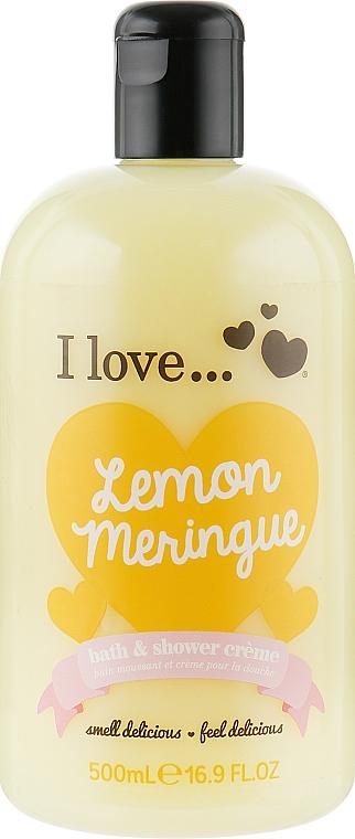 Крем для ванны и душа - I Love... Lemon Meringue Bath And Shower Cream
