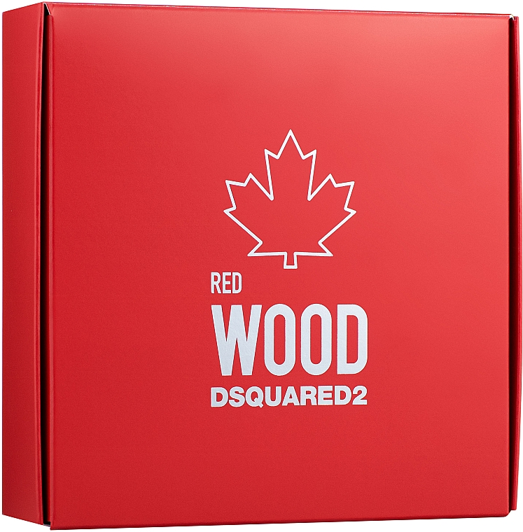 Dsquared2 Red Wood - Набор (edt/5ml + lipstick/1.2g)