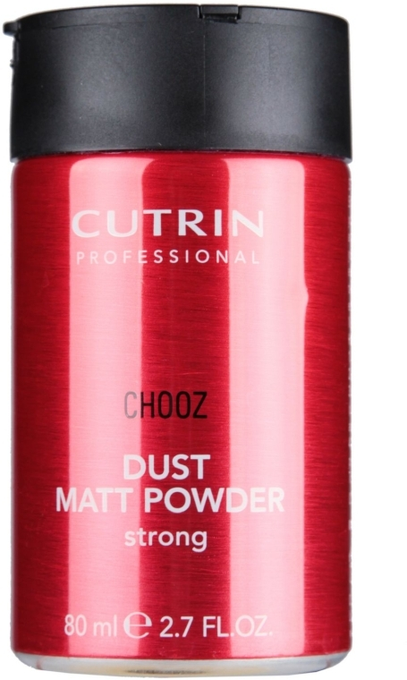 Матирующая пудра сильной фиксации - Cutrin Chooz Dust Matt Powder Strong