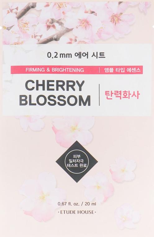 """Маска тканевая для лица """"Вишневый цвет"""" - Etude House 0.2 Therapy Air Mask No.Cherry Blossom"""