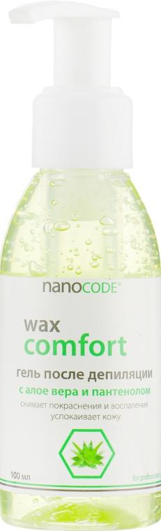 Гель после депиляции с алоэ вера и пантенолом - NanoCode Wax Comfort Gel
