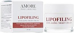 Духи, Парфюмерия, косметика Концентрированный антивозрастной ночной крем с липофилинг комплексом - Amore Lipofiling Anti-Aging Night Cream