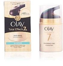 Духи, Парфюмерия, косметика Антивозрастной увлажняющий крем без отдушек - Olay Total Effects Moisturizing Anti-Aging No Perfume