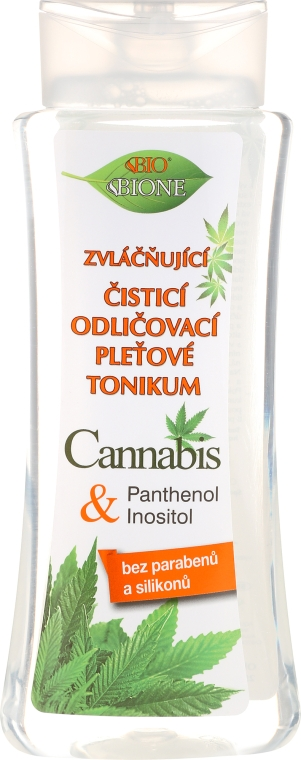 """Успокаивающий и восстанавливающий тоник для лица """"Конопля"""" - Bione Cosmetics Cannabis Tonic"""