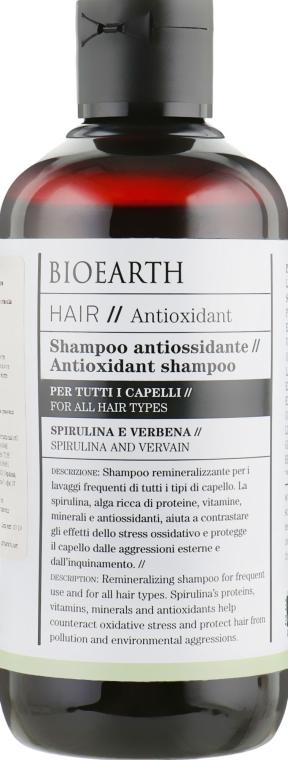 Шампунь для всех типов волос - Bioearth Hair Antioxidant Shampoo