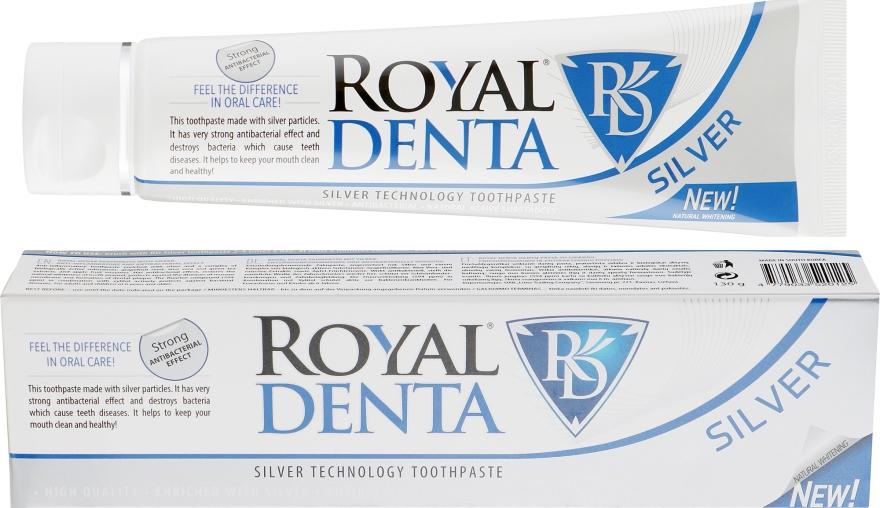 Зубна паста з сріблом - Royal Denta Silver Technology Toothpaste — фото N1