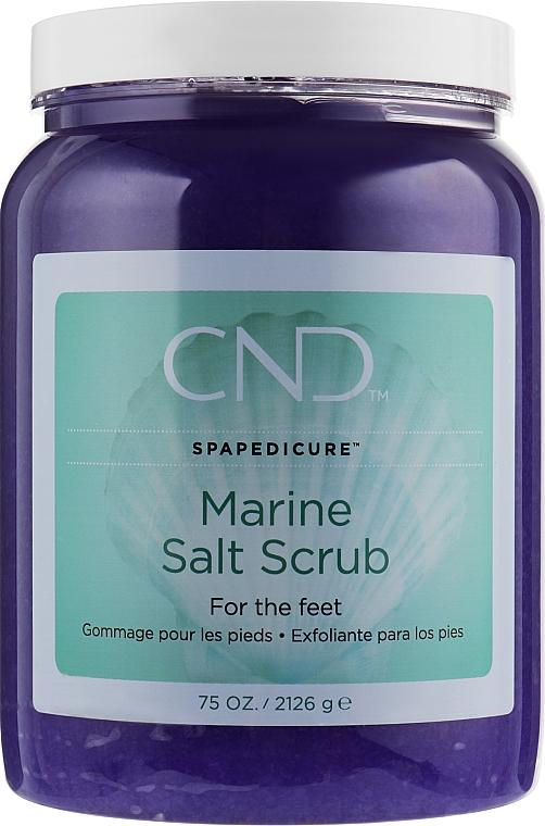 Минеральный скраб для педикюра - CND Spa Pedicure Marine Sea Salt Scrub