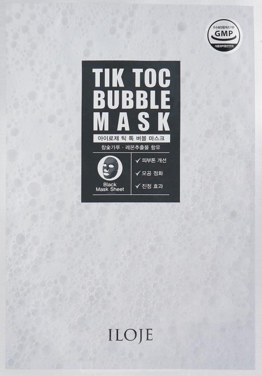 Пузырчатая маска для лица - Konad Iloje Tic Toc Bubble