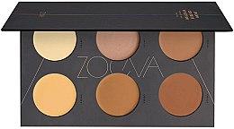Духи, Парфюмерия, косметика Кремовая палетка для контурирования - Zoeva Cream Contour Spectrum Palette