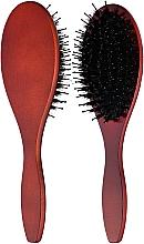 Духи, Парфюмерия, косметика Щетка деревянная с комбинированной щетиной - Ласковая