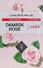 Духи, Парфюмерия, косметика Ультратонкая маска для лица с экстрактом дамасской розы - Etude House Therapy Air Mask Damask Rose