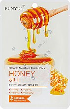 Духи, Парфюмерия, косметика Тканевая маска с экстрактом меда - Eunyul Natural Moisture Mask Pack Honey