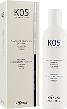 Духи, Парфюмерия, косметика Шампунь против перхоти - Kaaral К05 Dandruff Removing Shampoo