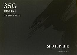 Духи, Парфюмерия, косметика Палетка теней для глаз - Morphe 35G Bronze Goals Artistry Palette