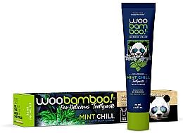 Духи, Парфюмерия, косметика Зубная паста с мятой и фтором - Woobamboo Mint Chill Toothpaste With Fluoride