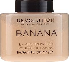 Духи, Парфюмерия, косметика Пудра для лица - Makeup Revolution Banana Baking Powder