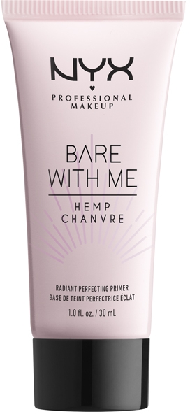 Праймер для лица с эффектом сияния - NYX Professional Makeup Bare With Me Hemp Radiant Perfecting Primer
