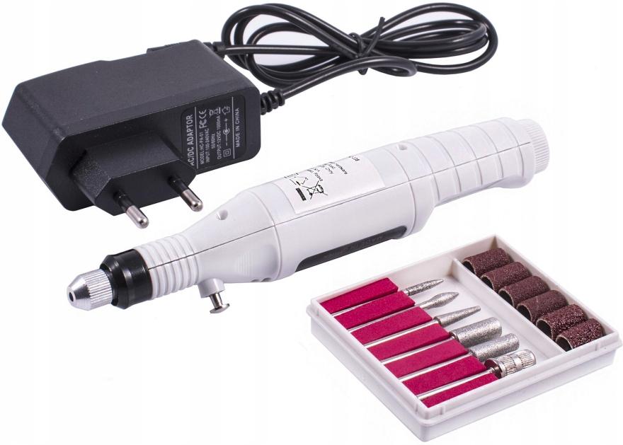 Фрезер-ручка для аппаратного маникюра, белая - Avenir Cosmetics