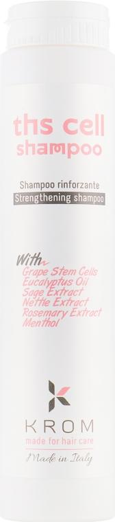 Укрепляющий шампунь против выпадения волос - Krom Ths Cell Shampoo