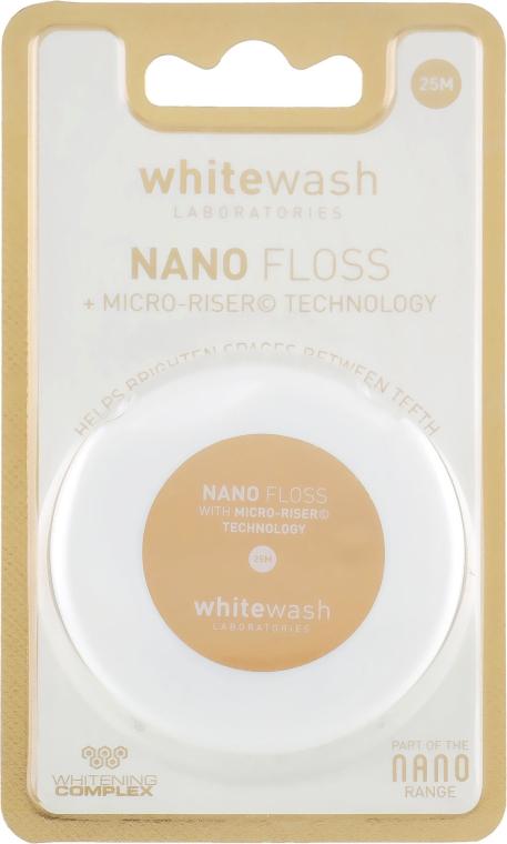 Зубная нить-флос Nano флос, расширяющийся - WhiteWash Laboratories