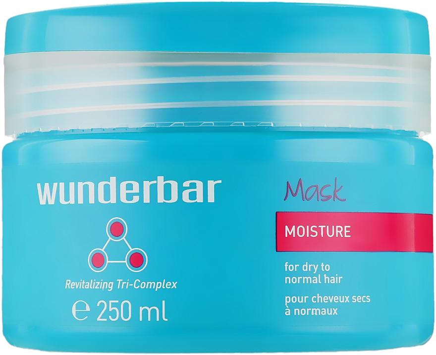 Маска-увлажнение для нормальных и сухих волос - Wunderbar Moisture Mask