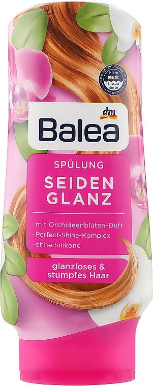 Бальзам-ополаскиватель для тусклых волос - Balea Seidenglanz