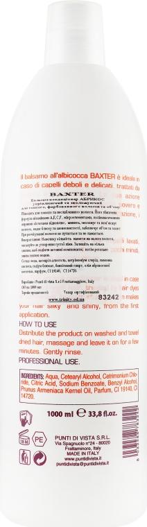 Бальзам-кондиціонер - Baxter Advanced Professional Hair Care Apricot Conditioner — фото N2