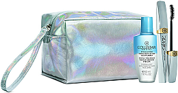 Духи, Парфюмерия, косметика Набор - Collistar Shock (mascara/8ml + demaq/50ml + bag)
