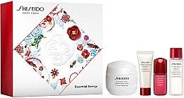 Духи, Парфюмерия, косметика Набор - Shiseido Essential Energy Holiday Kit (cr/50ml + foam/15ml + f/lot/15ml + conc/5ml)