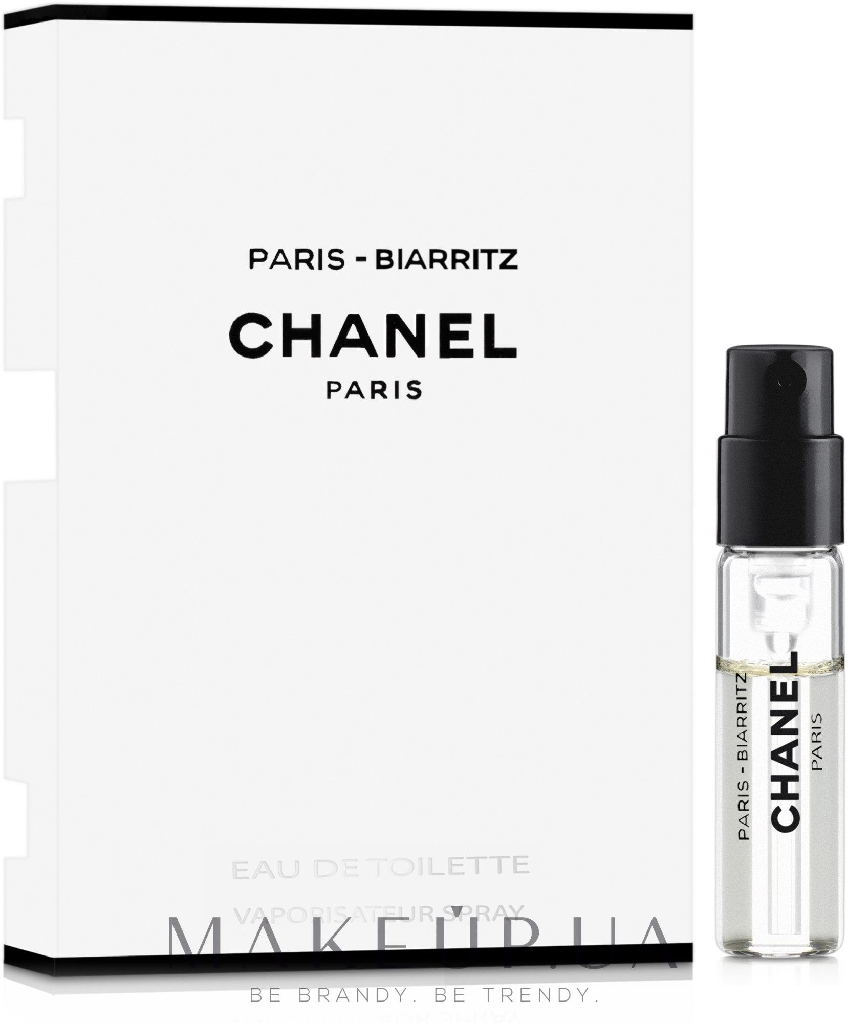 Makeup отзывы о Chanel Paris Biarritz туалетная вода пробник