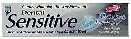 "Духи, Парфюмерия, косметика Зубная паста ""Бережное отбеливание"" - Dental Sensitive Whitening Formula"