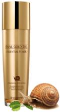 Духи, Парфюмерия, косметика РАСПРОДАЖА Тонер омолаживающий с 24K золотом и экстрактом улитки - SeaNtree Snail Gold 24K Essential Toner