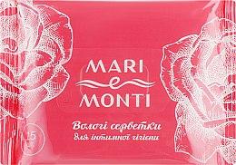 Духи, Парфюмерия, косметика Влажные салфетки для интимной гигиены, с ромашкой и календулой - Mari E Monti