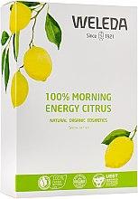 Духи, Парфюмерия, косметика Набор - Weleda 100 % Morning Energy Citrus (sh/gel/200ml + deo/50ml)