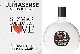 Духи, Парфюмерия, косметика Гель для душа - Hristina Cosmetics Sezmar Love Ultrasense Aphrodisiac Shower Gel