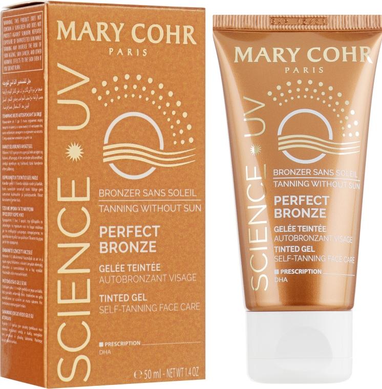 "Крем с пигментом ""загара"" для лица - Mary Cohr Perfect Bronze Face"