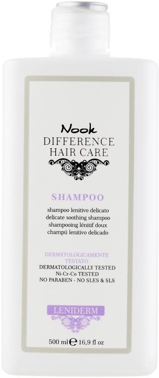 Успокаивающий шампунь - Nook DHC Leniderm Shampoo