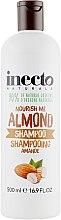 Духи, Парфюмерия, косметика Шампунь для волос, с маслом миндаля - Inecto Naturals Almond Shampoo