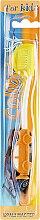Духи, Парфюмерия, косметика Детская зубная щетка, 0928, оранжевая - Colibris Soft