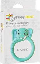 Духи, Парфюмерия, косметика Прорезыватель для зубов, слоник - Happy Dent