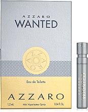 Духи, Парфюмерия, косметика Azzaro Wanted - Туалетная вода (пробник)
