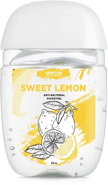 "Антибактериальный гель для рук ""Sweet Lemon"" - SHAKYLAB Anti-Bacterial Pocket Gel"