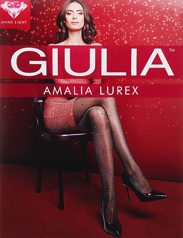"""Колготки для женщин """"Amalia Lurex 1"""" 20 Den, nero - Giulia"""