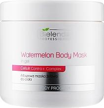 Духи, Парфюмерия, косметика Арбузная гелевая маска для тела - Bielenda Professional Watermelon Gel Body Mask