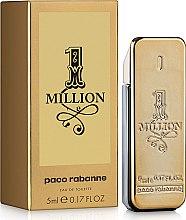 Духи, Парфюмерия, косметика Paco Rabanne 1 Million - Туалетная вода (мини)